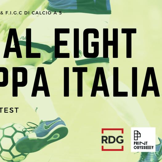 F.I.G.C. Divisione Calcio a cinque contest per il logo della coppa Final Eight
